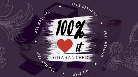 Ziivaa 100% LOVE IT Guarantee